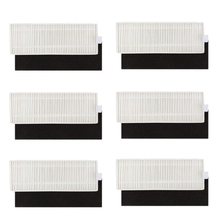 Filter Replacement Parts for Eufy 11+ 11 Plus Robovac Vacuum Cleaner Accessories (Pack of 12)