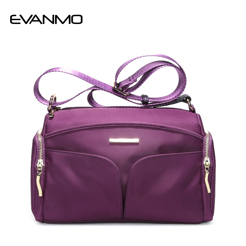 Brand Designer Women Messenger Bags Crossbody Soft Oxford Cloth Leather Shoulder Bag High Quality Fashion Women Bags Handbags soar shell bag crossbody bags women messenger bags designer handbags high quality small leather shoulder bag brand famous 5