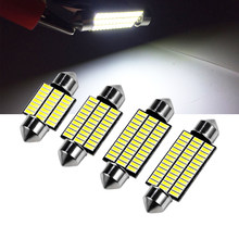 1 Pc C5W Led Interieur Festoen Licht 31 Mm 36 Mm 39 Mm 41 Mm C10W Auto Led 4014 smd 24/30/36/39Leds Doom Lamp Leeslamp 12V(China)