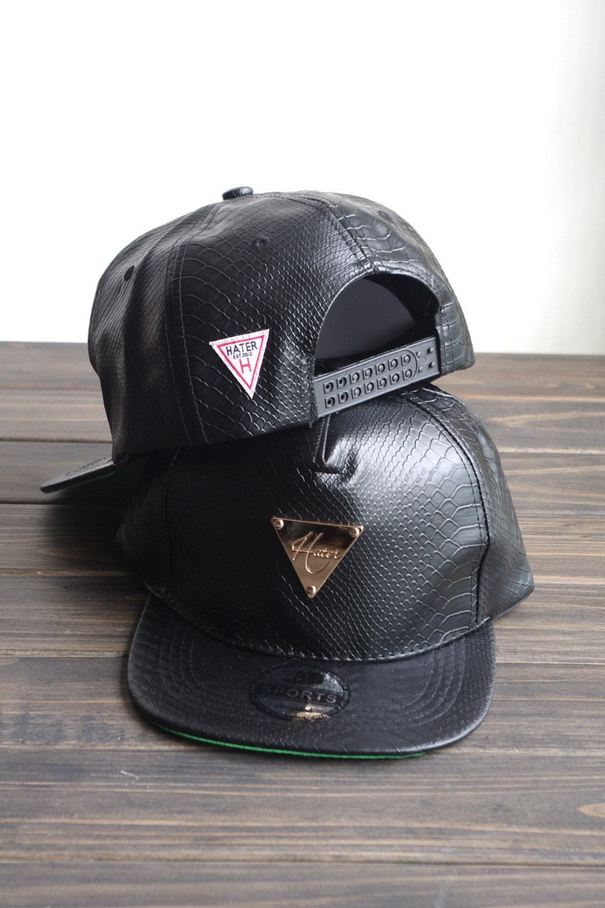 ... best price hater snapback fashion personality crocodile pattern pu  hiphop baseball cap in holidays costumes from ... d799362f06f