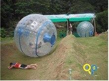 free shipping PVC/TPU walking roller ball inflatable walking ball