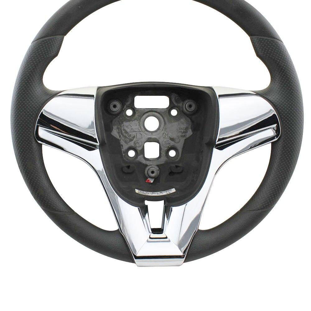 Carmilla Car Styling Steering Wheel Decoration Cover Sequins Trim Sticker for Chevrolet Chevry Cruze Sedan Hatchback 2009 - 2014