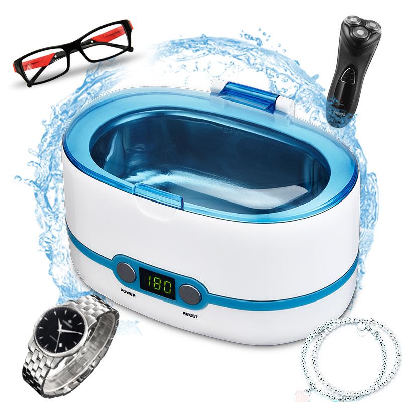 220 240V Ultrasonic cleaning machine Household Glass washing machine Contact lens washing machine Jewelry watch Washer