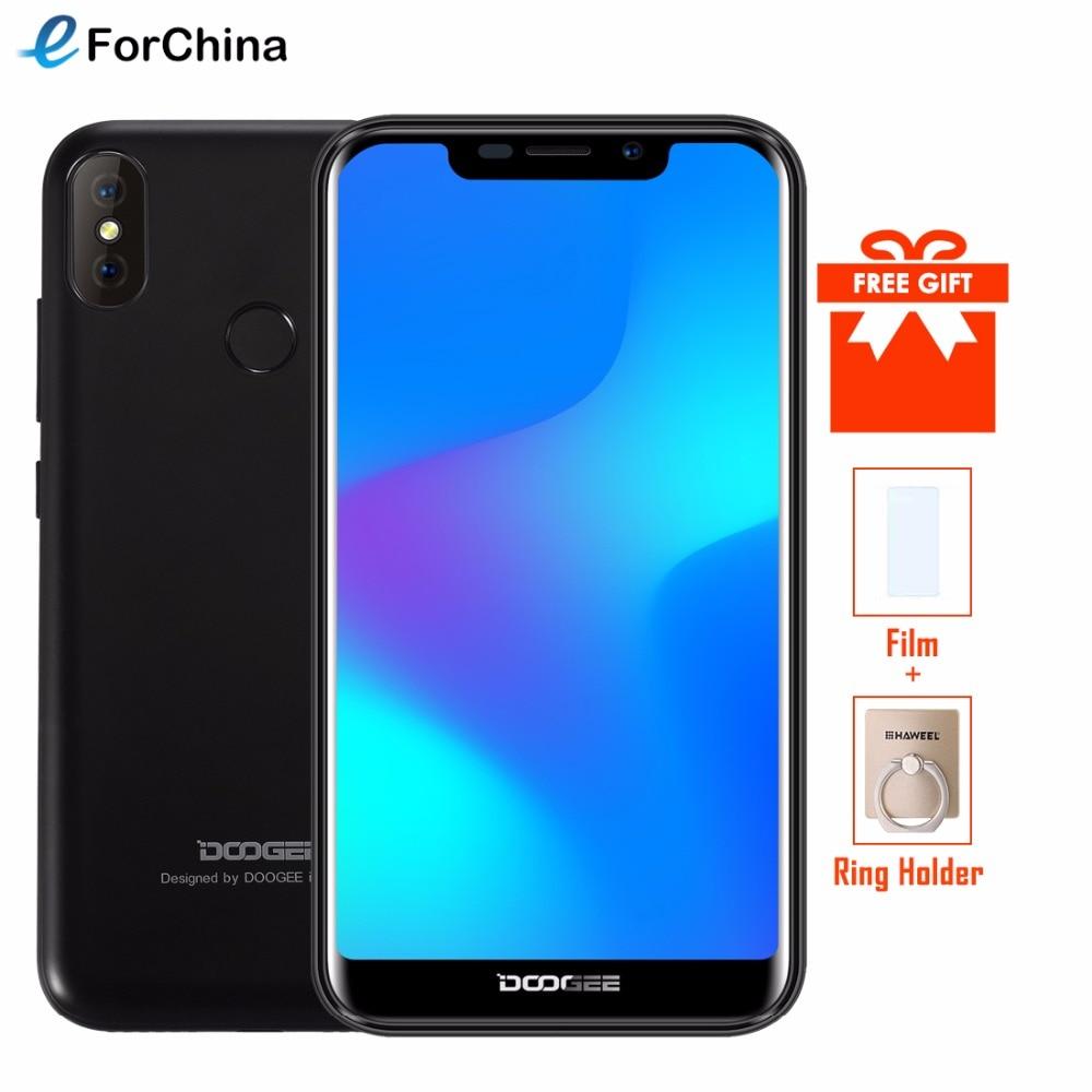DOOGEE X70 Smartphone Face ID 5.5 ''u-cran 19:9 MTK6580A Quad Core 2 GB RAM 16 GB ROM double caméra 8.0MP Android 8.1 4000 mAh téléphone