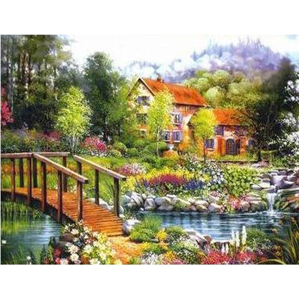 Online Buy Wholesale garden bridge kit from China garden bridge