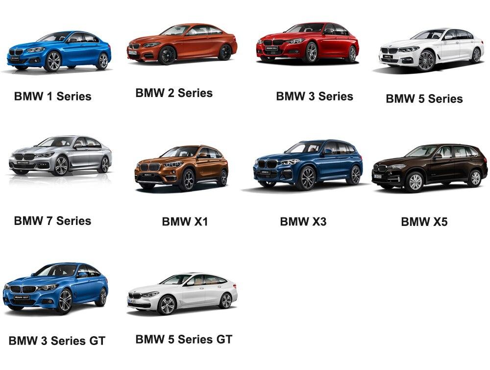 Bmw Part Of The Model Comparison Chart