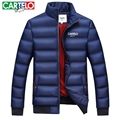CARTELO Brand 2016 Slim DOWN COATS fashion WINTER JACKET MEN MENS Warm napapijri Casual Thick jackets Cotton Male Parkas COAT