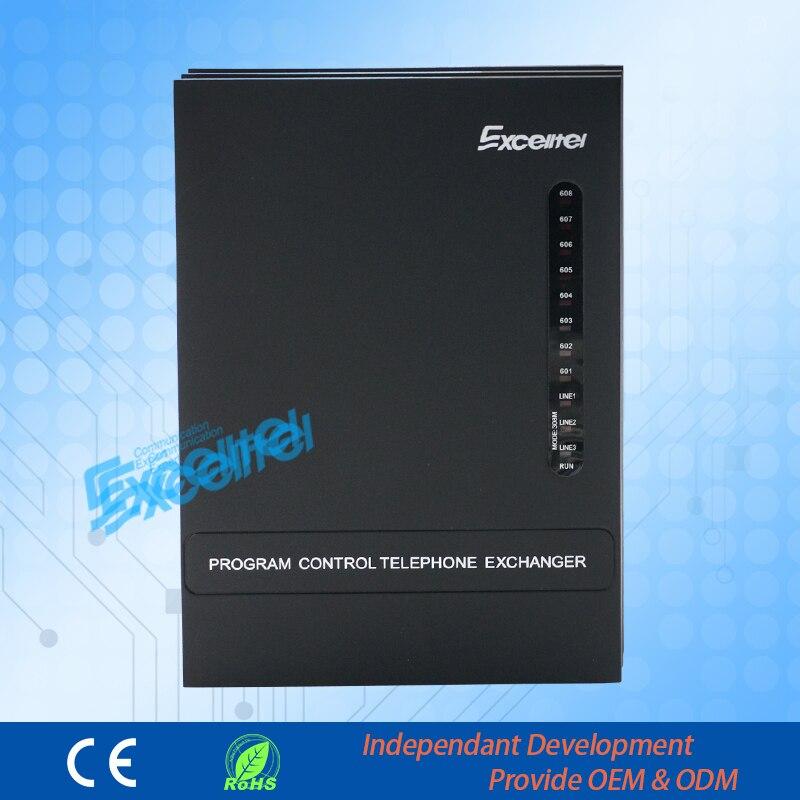 Excellent système téléphonique de programmation facile/bureau PBX/MD308/3 PSTN ligne 8 extension Mini pabx - 5