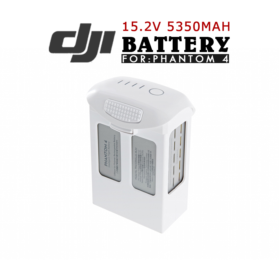 100% Original DJI Phantom 4 Spare Parts Intelligent Flight Battery with 15.2V 5350mAh LiPo Battery Free Shipping