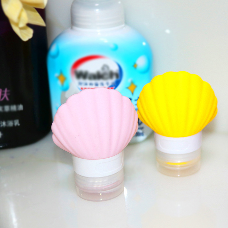 Shell Travel Sub-bottle Bathroom Accessories Liquid Soap Dispenser Shower Gel Shampoo Bottles For Home Kitchen Dispensing Jars