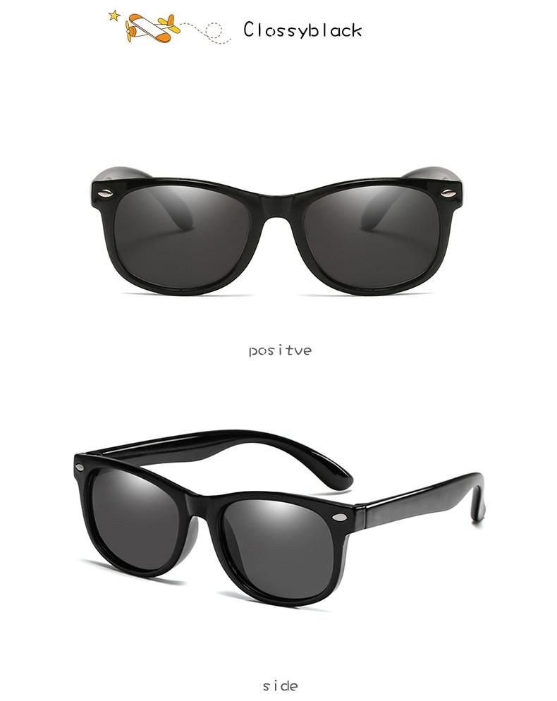 Długi bramkarza nowy spolaryzowane okulary przeciwsłoneczne dla dzieci chłopcy dziewczyny dziecko niemowlę modne okulary słoneczne UV400 okulary