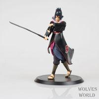 Gratis Verzending Japan Naruto Shippuden Uchiha Sasuke Kwaliteit PVC Action Figure Collectible Model Toy 7