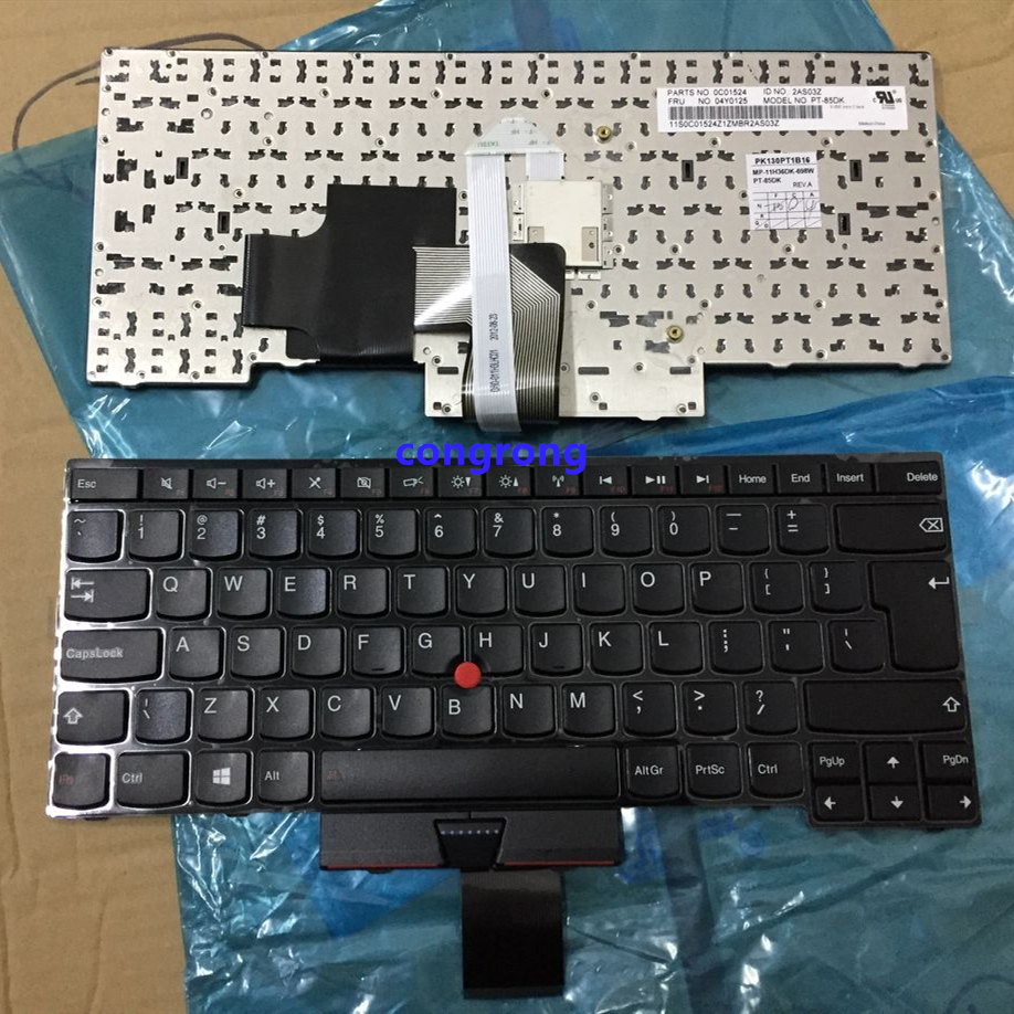 Laptop UK Keyboard For IBM for Lenovo Edge E430 E435 E330 E430C E445 S430 E335 T430U