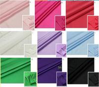 ZY 12 Renkler seçimi için streç malzeme latin elbise beyaz siyah polyester spandex kumaş örme jersey spandex kumaş