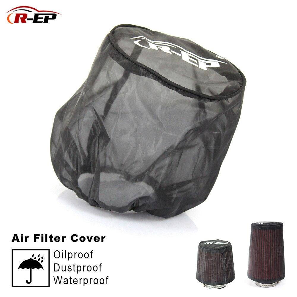 2019 uniwersalny filtr powietrza osłona ochronna wodoodporna olejoodporna pyłoszczelna na wysoki przepływ dopływ powietrza filtry czarne akcesoria samochodowe