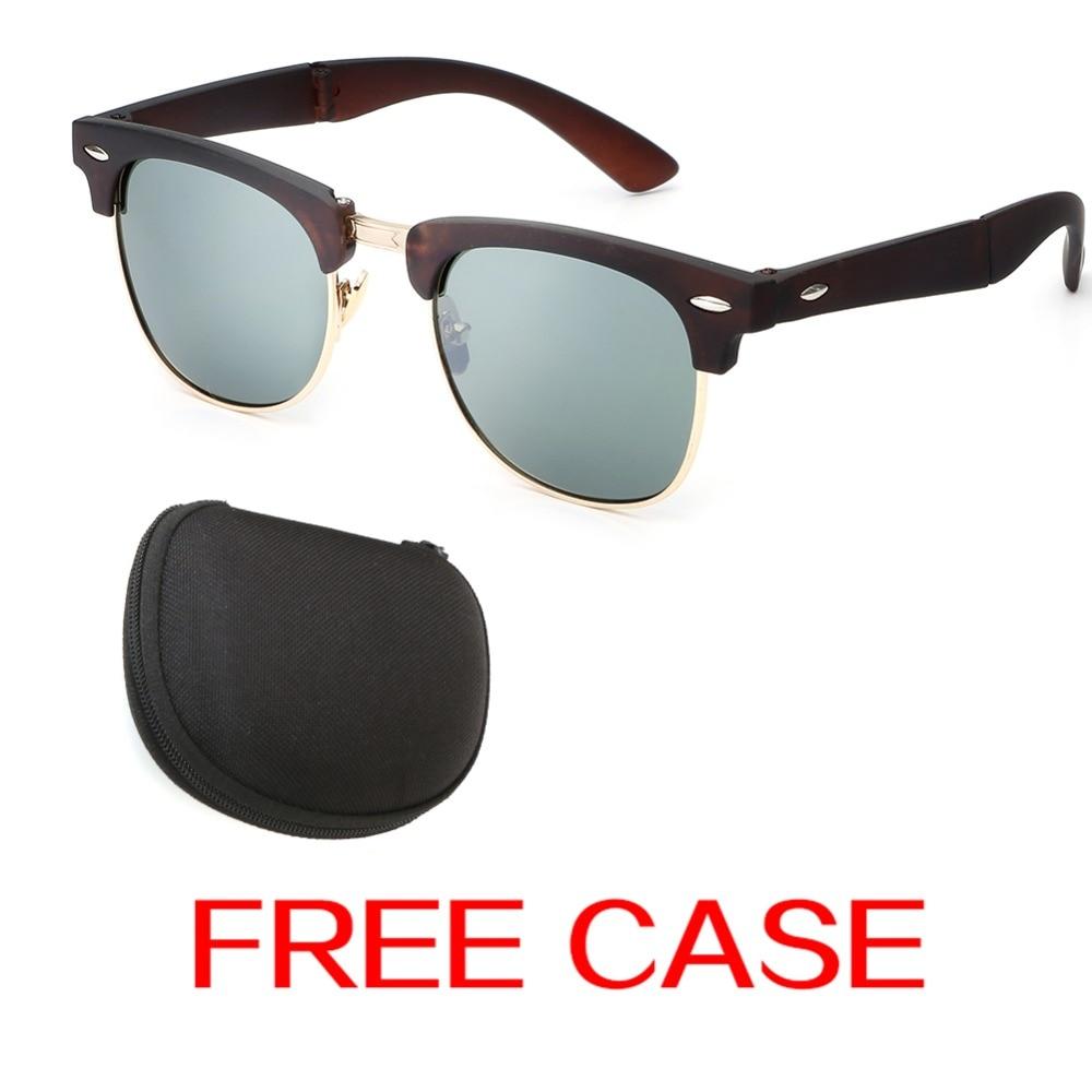 Haute qualité Lunettes de soleil Mode Pliable Glasses Box Case-03 leHdzF7qK