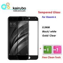 цена на Tempered glass for Xiaomi mi6 mi 6 m6 full Screen Protector 9H Nano Coating Protective glass Film for Xiaomi mi6 mi 6 pro