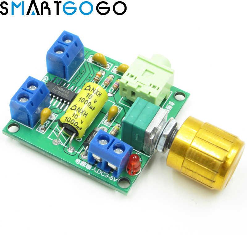 6 Вт + 6 Вт PAM8406 аудио стерео усилитель доска Цифровой класса D amp2 amp 2 канала DC 3 В 5 В литиевых Батарея Питание модуль