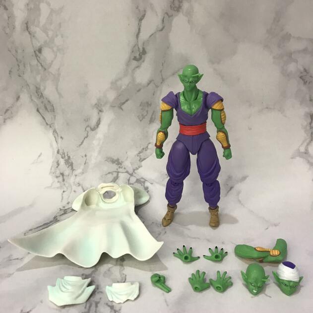 Anime Dragon Ball Z Super Kai Original BANDAI Tamashii Nations SHF S.H. Action Figure PVC Piccolo Toys Piccolo Figure Doll Model