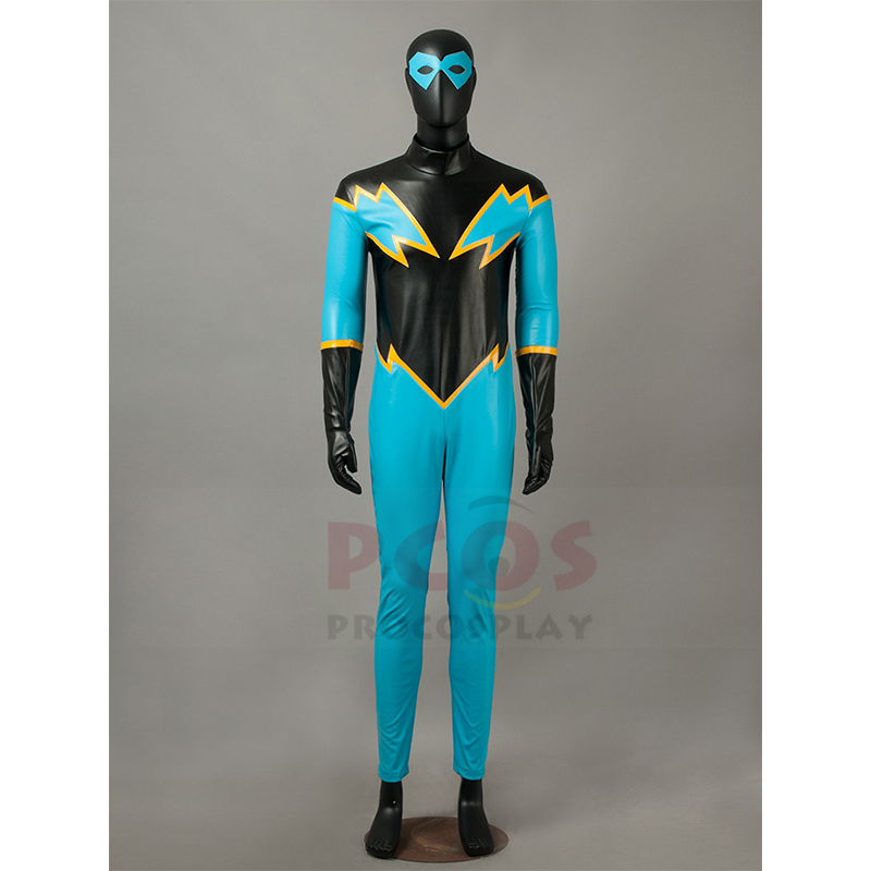 justice league Black lightning Cosplay Costume mp003469