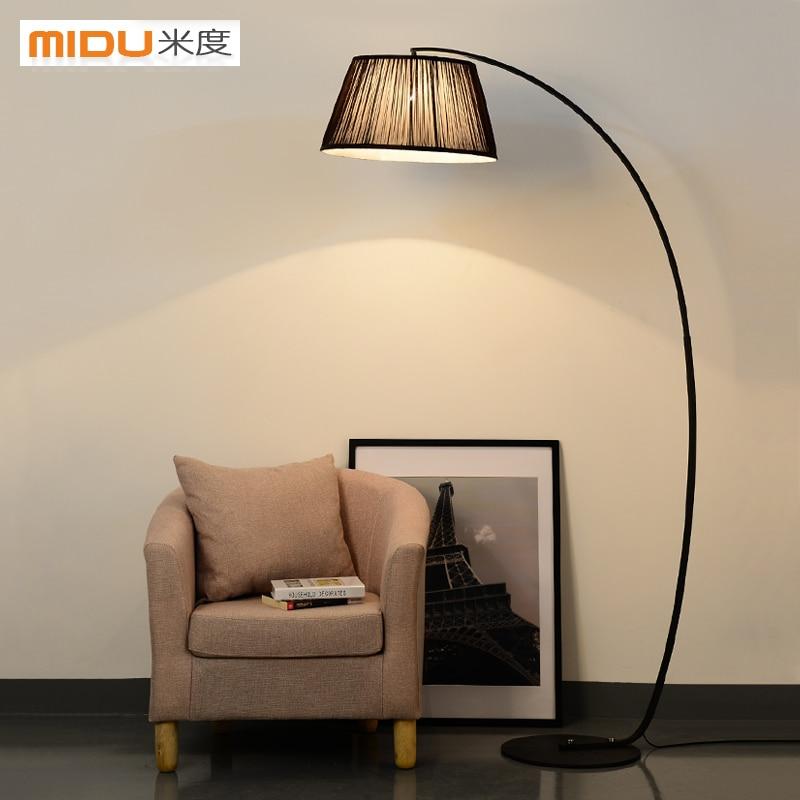 American Country Bedroom Floor Lamp Standing Lamp Modern