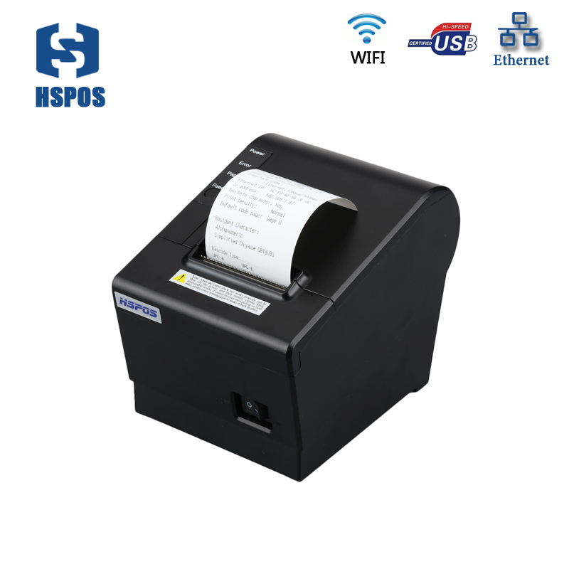 MQTT 58mm wifi pos printer with usb + lan port support cloud printing 130mm/s with auto cutter mqtt could printing solution gprs 2 inch thermal receipt printer with usb lan port support win10 and linux auto cutter
