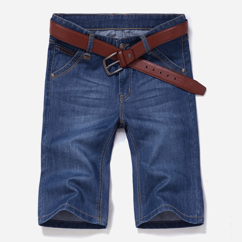 Nuevos mens Denim Pantalones cortos Vaqueros verano medio Pantalones cortos  ocasionales Pantalones tamaño 28-40 1c584b8c885