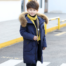 2017 Warm Boy's Winter down Jackets warm feather baby boy's Coats thick duck Down Kids jacket Children Outerwears cold winter