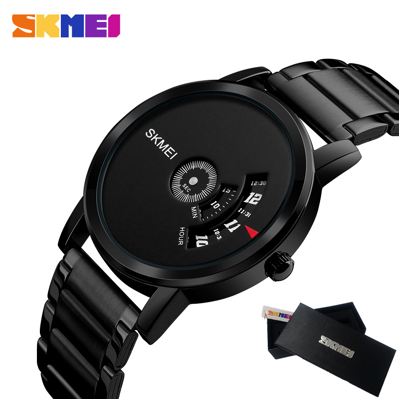2017 Top Luxury Brand SKMEI Fashion Men Military Sports Watches Man Quartz Hour Clock Male Full Steel Watch Relogio Masculino