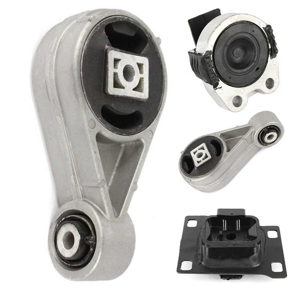 Engine Motor Mounts Front Rear Right Set Kit 2.0 L For Ford Focus
