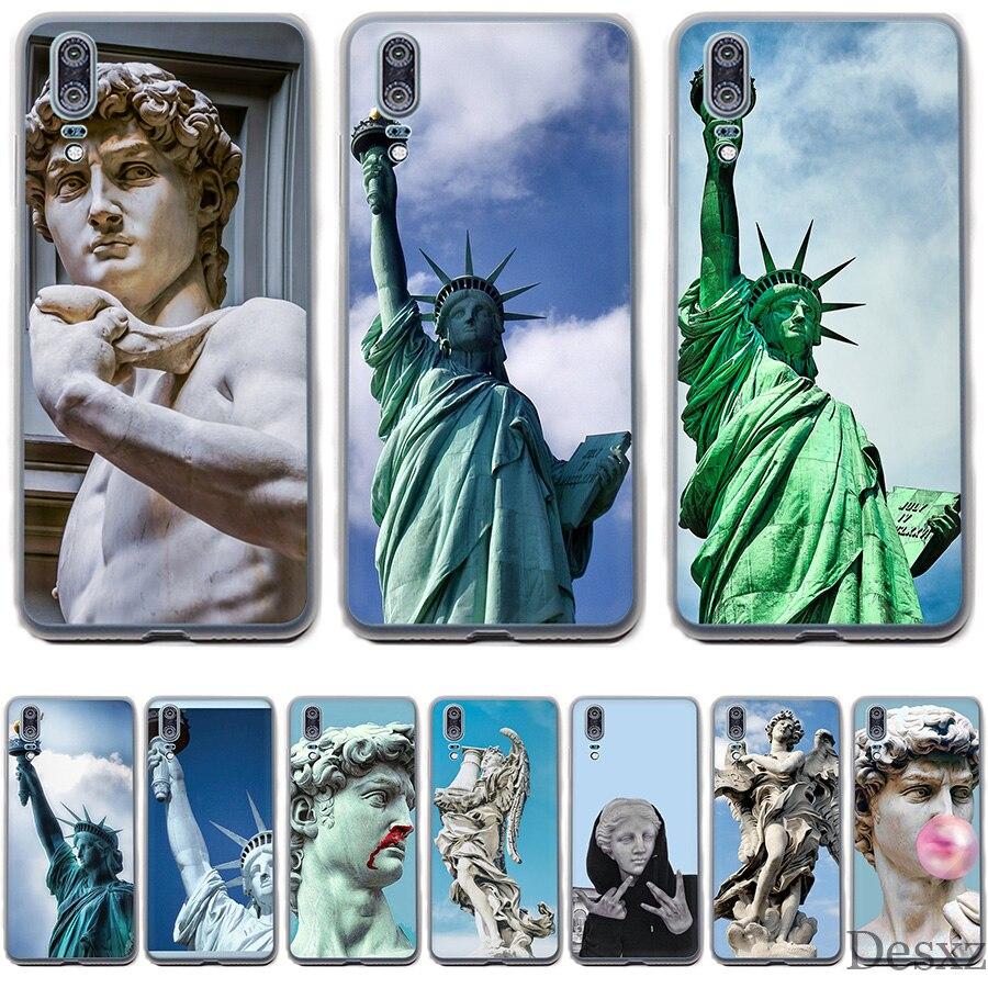 Phone Case Colorful Phone Case  Alternative Statue Art For Huawei P Smart P8 P9 P10 P20 Lite Pro P20pro 2015 2016 2017 Cover