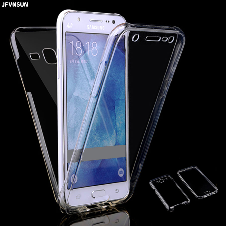 Aliexpress.com : Buy For Samsung J3 J7 J5 prime 2016 Case Front + Back Clear TPU Soft Case for