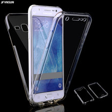 For Samsung J7 Case for SAMSUNG Galaxy J7 (6) 2016 J710 2015 J700 SLIM Clear TPU Soft Gel 360 Full Body Protect Phone Case Cover