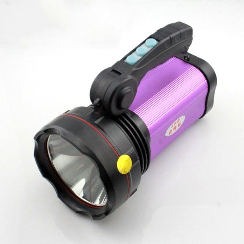 Xm L2 1000lm Aluminium Étanche 6 Modes Led Lampe Torche Lumière Pour 7000 Au Lithium-ion Rechargeable Batterie