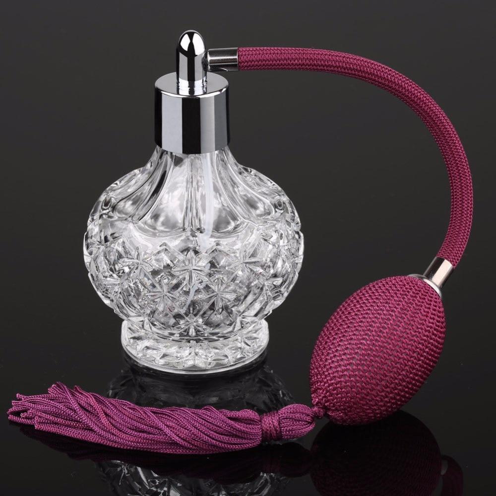 80ml kristal parfumflesje wijn rode lange spraakkwasten verstuiver - Huidverzorgingstools - Foto 5