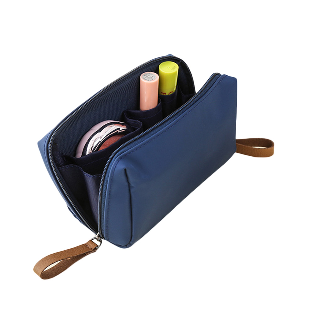 цена Women Nylon Cosmetic Bag Small Make Up Organizer Storage Bags Waterproof Travel Necessities Bag BS88