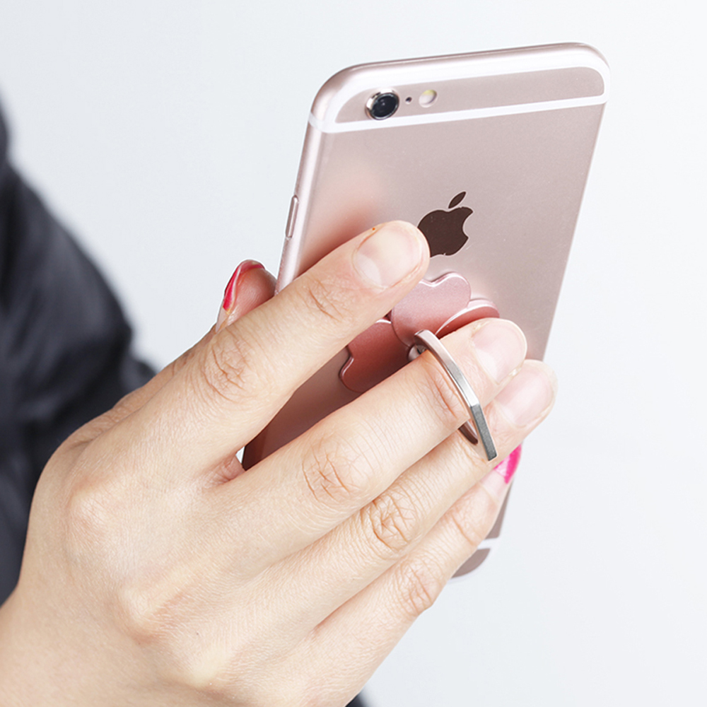 ZLNHIV Ring Round Support Desk Mobile Phone Holder Stand Accessories Mount For Iphone Grip Support Cell Cellphone Finger Holder