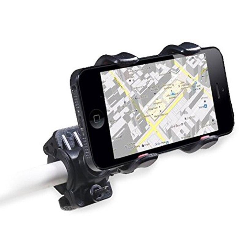 Universal Sepeda Sepeda Telepon Pemegang Gunung Bracket Handlebar - Aksesori dan suku cadang ponsel - Foto 4