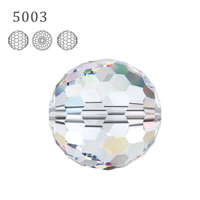 (1 piece) 100% crystal from Swarovski-elements 5003 Disco Ball beads made in Austria loose beads Rhinestone DIY jewelry making