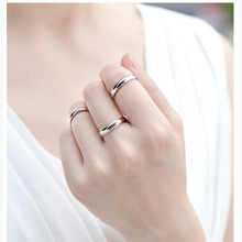 Simple Ring  4mm/6mm high quality fashion ring for man and woman