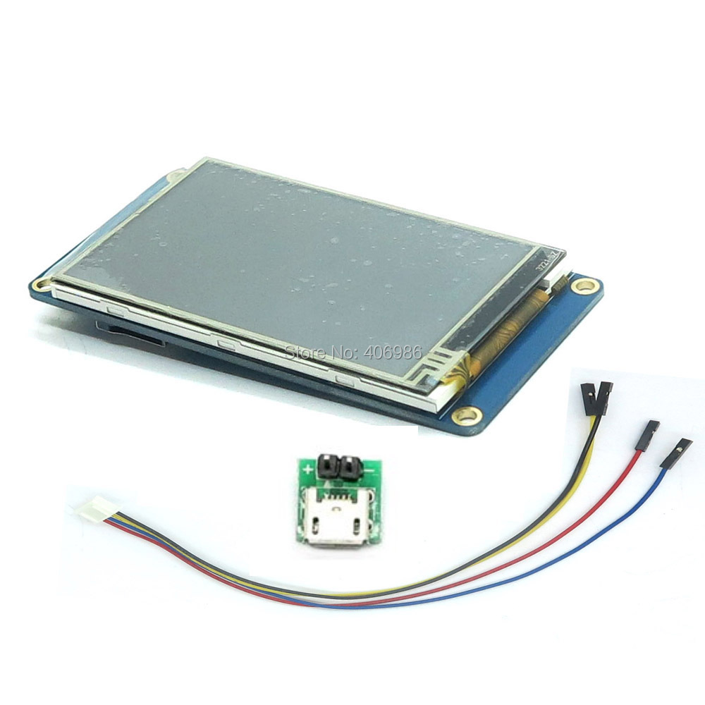 DIYmall English Version Nextion 3 5 UART HMI Smart LCD Display Module Screen for Arduino TFT