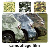 Car Sticker Film VInyl Wrapping Camouflage Auto Exterior Carbon Fiber Accessories Motorcycle Sticker 1.52*15m/roll