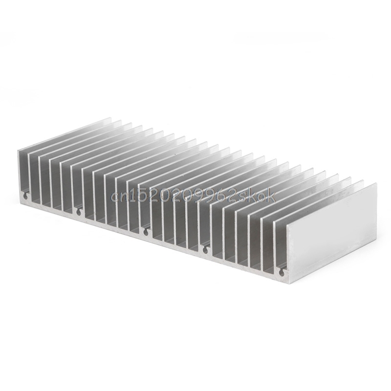 1Pc Radiator Aluminum Heatsink Extruded Profile Heat Sink for Electronic Chipset #H029# radiator aluminum cooler cooling heatsink extruded profile heat sink for computer pc chipset power ic electric device led light