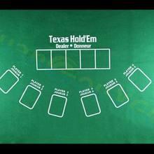 Texas Hold'em не-тканый коврик для столов, игры в покер, столешница 21 очко, скатерти, вечерние, семейные, развлекательные игрушки