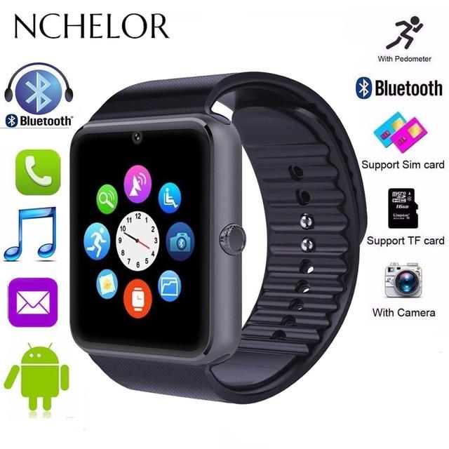 NEW Bluetooth Smart Watch Men GT08 With Touch Screen Sport Watch Support TF SIM