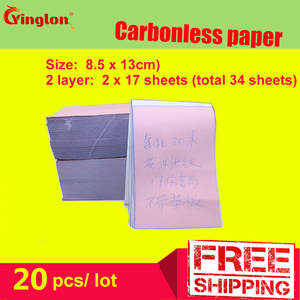 Memorandum-Sheet Carbonless Paper No Letter-Pad Note Blank Handwritten-Sales Double-Layer