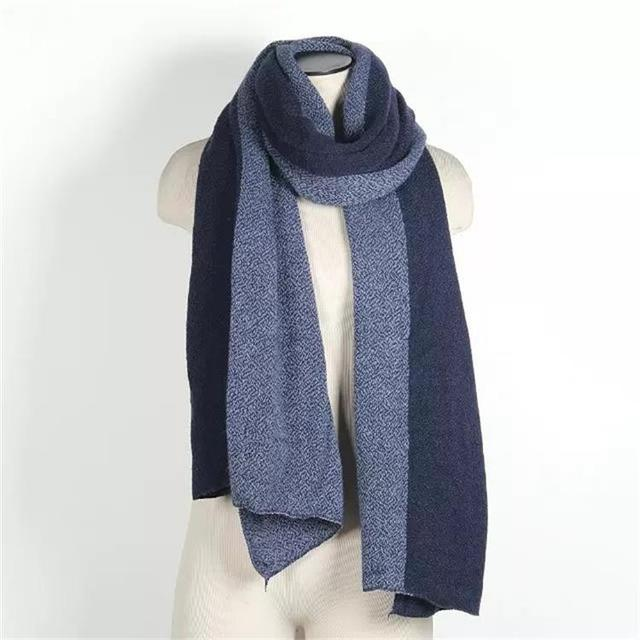 2017 New design patchwork long thick scarves unisex high quality women warm shawl pashmina casual men scarf for gift