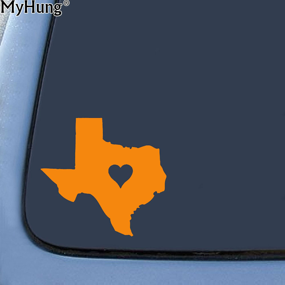 Laptop Decal Texas Home Bumper Sticker Home State Car Window Decal