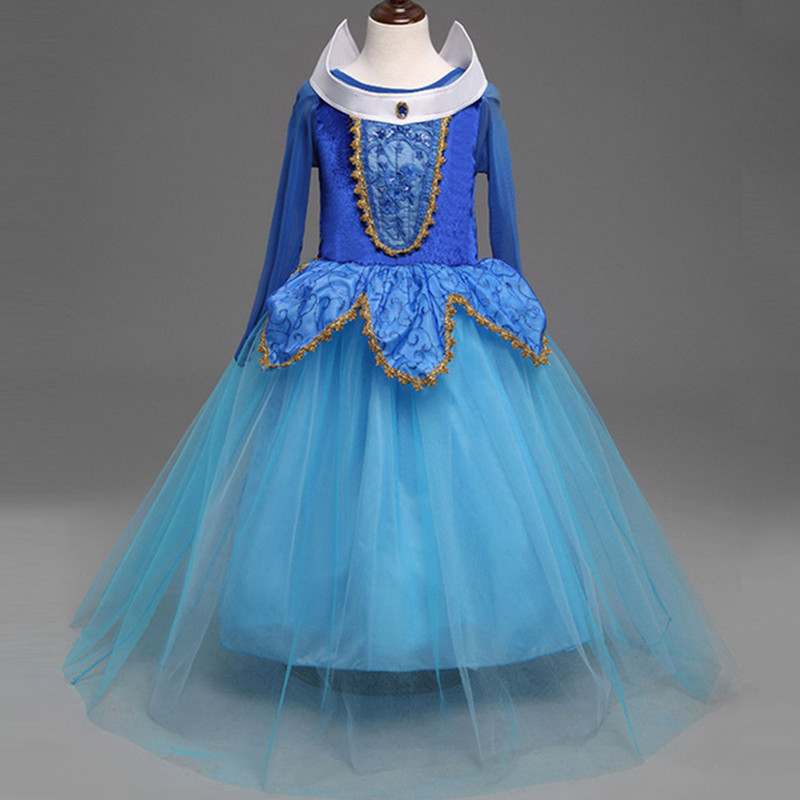 Brand Fairy Princess Aurora Dress Girls dresses for Party and ...