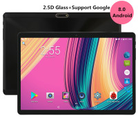 2019 New 2.5D Glass 10 inch tablet Octa core 3G 4G LTE 1280x800 IPS HD 4GB RAM 32GB ROM Android 8.0 GPS tablets 10.1 Gifts